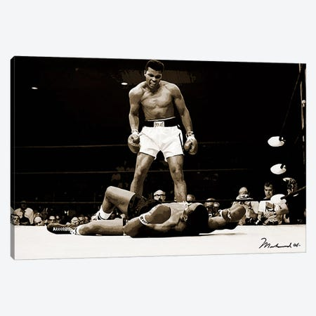Muhammad Ali Vs. Sonny Liston, 1965 Canvas Print #10008} by Muhammad Ali Enterprises Canvas Wall Art