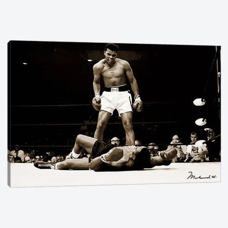 Muhammad Ali Vs. Sonny Liston, 1965 Canvas Print #10008} by Muhammad Ali Enterprises Canvas Wall Art