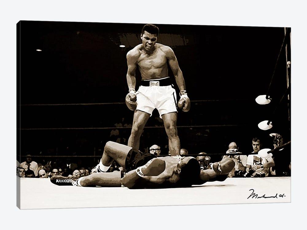Muhammad Ali Vs. Sonny Liston, 1965 by Muhammad Ali Enterprises 1-piece Canvas Art