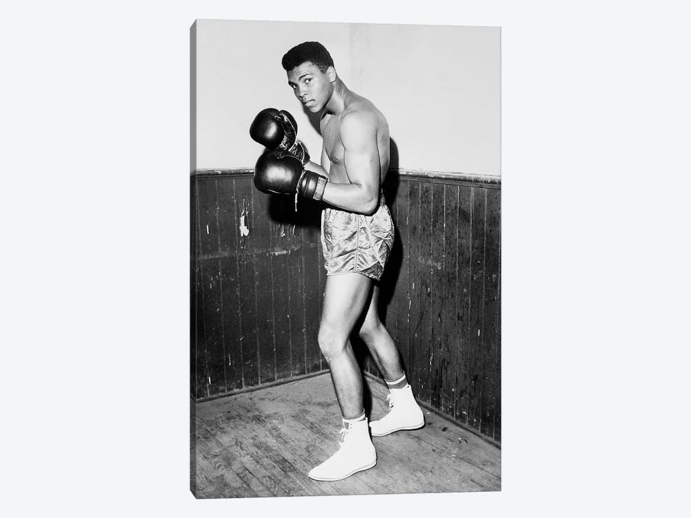 Winner of Golden Gloves Heavyweight Title, 1960 1-piece Art Print