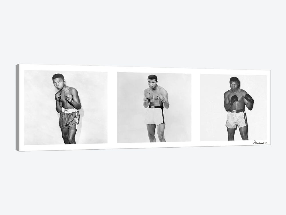 Publicity shots of Ali by Muhammad Ali Enterprises 1-piece Canvas Artwork