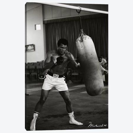 Ali Training in Zaire Canvas Print #10018} by Muhammad Ali Enterprises Canvas Art Print