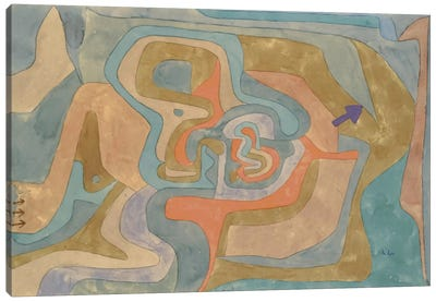 Flying Away (Entfliegen) 1934 by Paul Klee Canvas Art