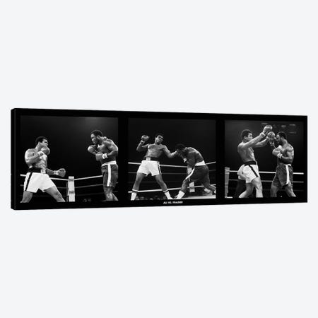 Muhammad Ali Vs. Frazier, Quezon City, Philippines 1975 Canvas Print #10022} by Muhammad Ali Enterprises Canvas Artwork