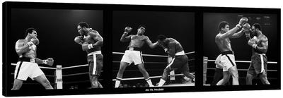 Muhammad Ali Vs. Frazier, Quezon City, Philippines 1975 Canvas Art Print