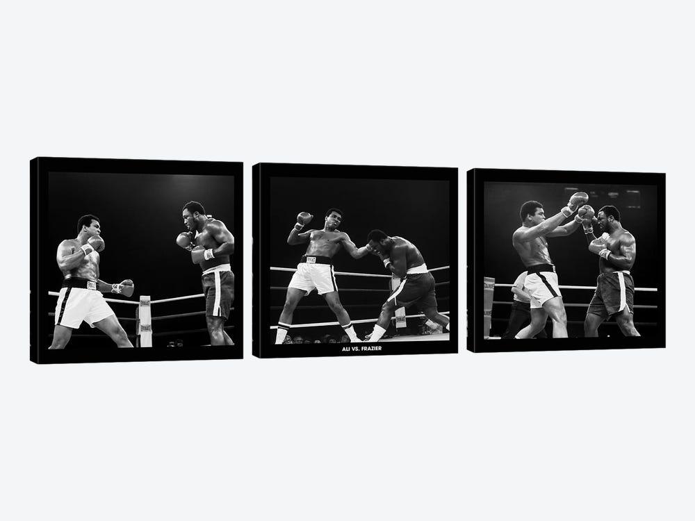 Muhammad Ali Vs. Frazier, Quezon City, Philippines 1975 by Muhammad Ali Enterprises 3-piece Canvas Wall Art