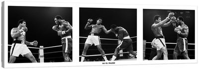Muhammad Ali Vs. Frazier, Quezon City, Philippines Canvas Print #10023