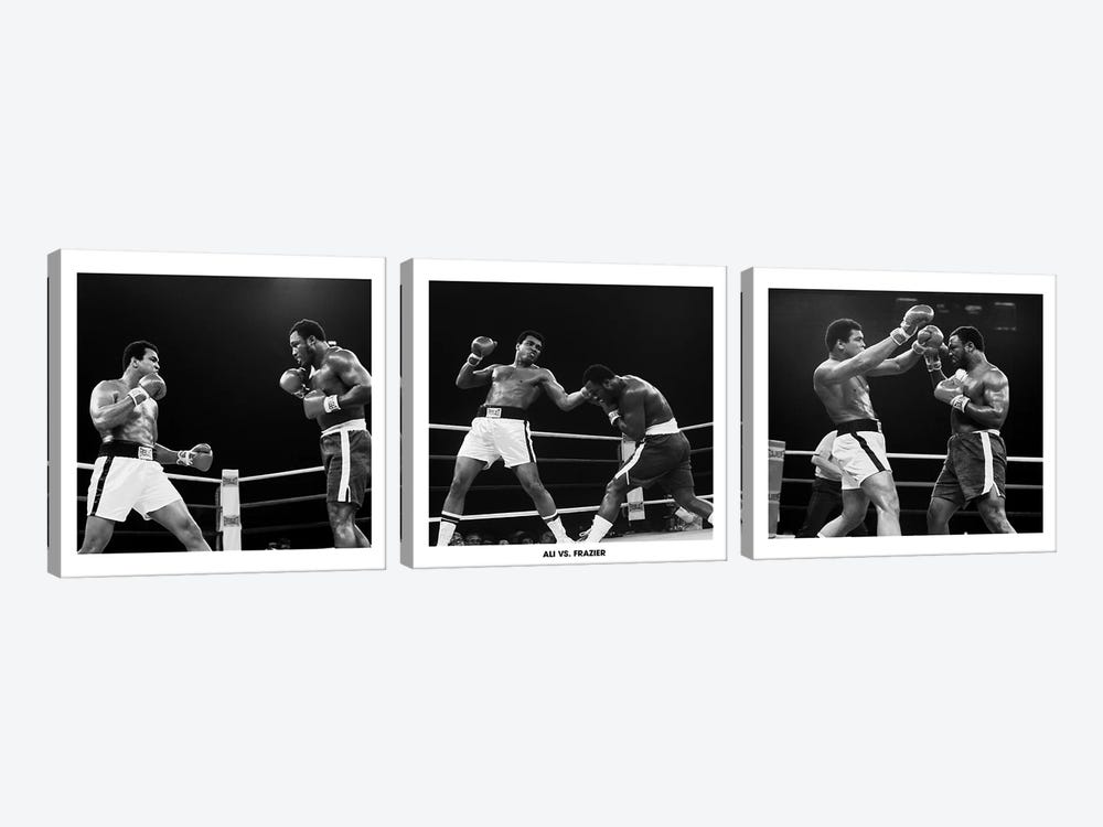 Muhammad Ali Vs. Frazier, Quezon City, Philippines 3-piece Art Print