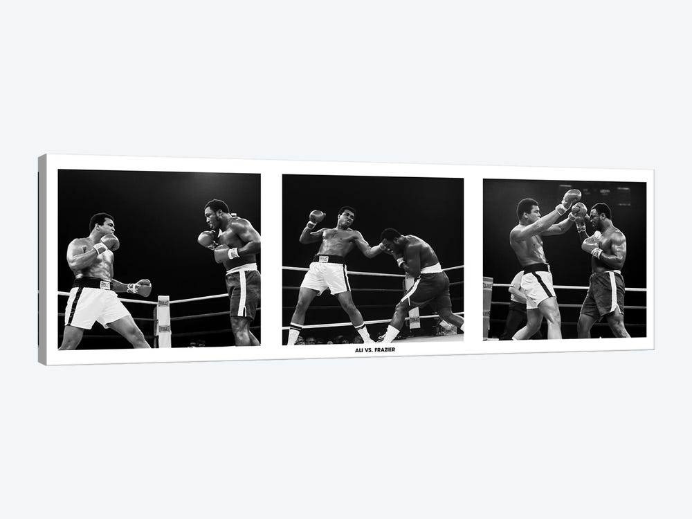 Muhammad Ali Vs. Frazier, Quezon City, Philippines by Muhammad Ali Enterprises 1-piece Canvas Print