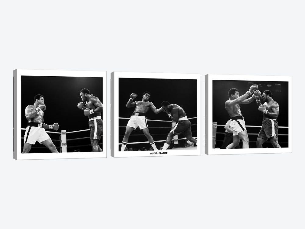 Muhammad Ali Vs. Frazier, Quezon City, Philippines by Muhammad Ali Enterprises 3-piece Art Print