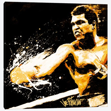 Ali Fury Canvas Print #10025} by Muhammad Ali Enterprises Canvas Art Print