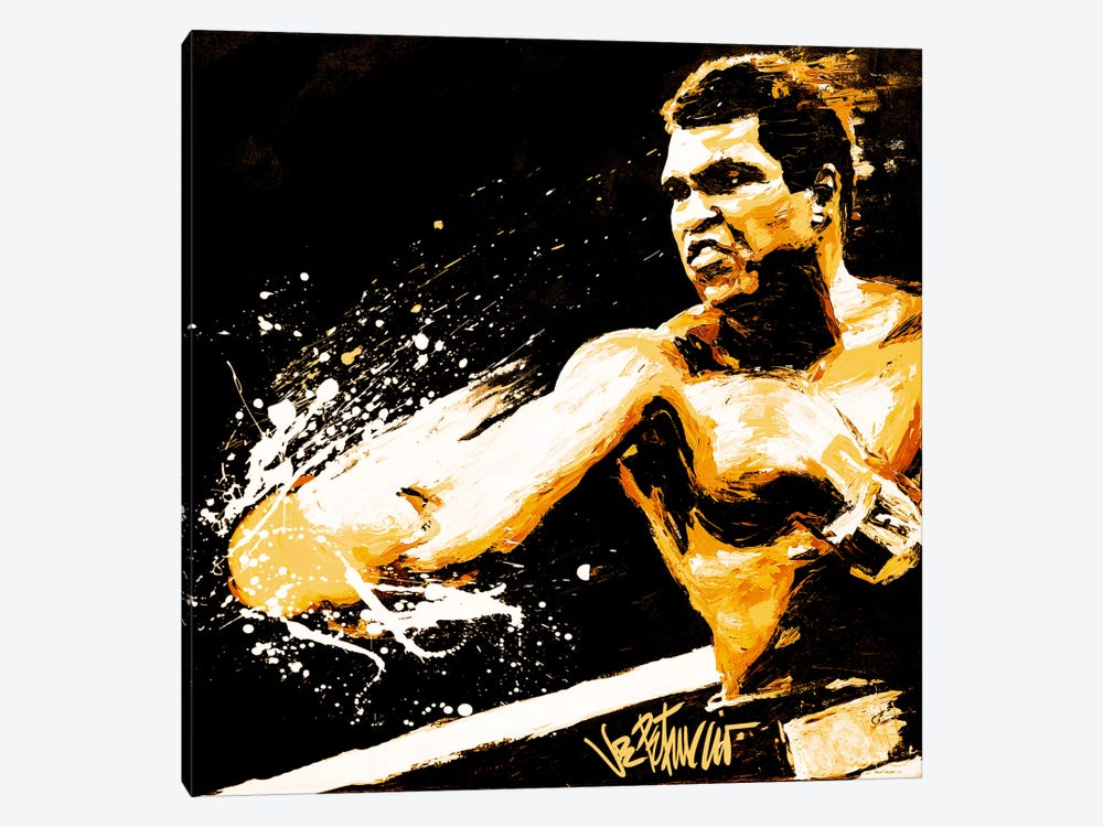 Ali Fury by Joe Petruccio 1-piece Canvas Art Print