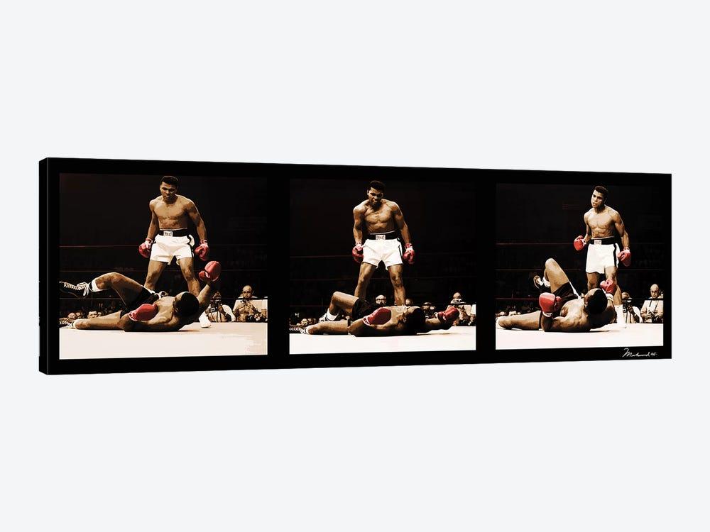 Muhammad Ali Vs. Sonny Liston by Muhammad Ali Enterprises 1-piece Canvas Art Print