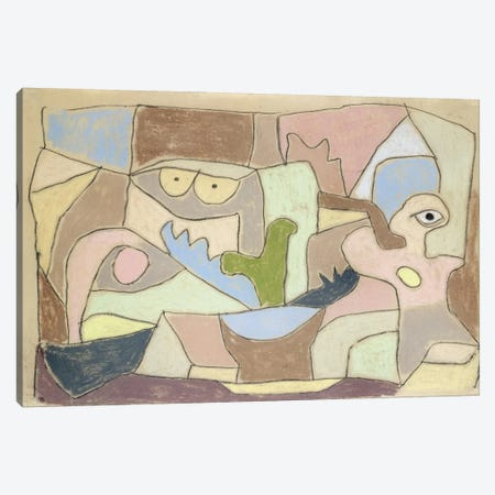 Also True of Plants (Gilt Auch Fur Pflanzen) 1932 Canvas Print #1002} by Paul Klee Canvas Wall Art