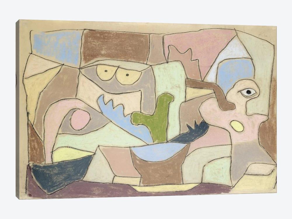 Also True of Plants (Gilt Auch Fur Pflanzen) 1932 by Paul Klee 1-piece Canvas Artwork