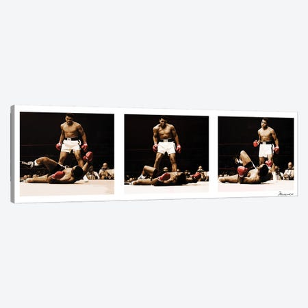 Muhammad Ali Vs. Sonny Liston Canvas Print #10030} by Muhammad Ali Enterprises Canvas Print