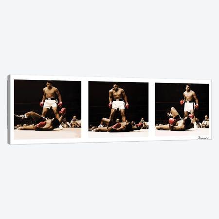 Muhammad Ali Vs. Sonny Liston Canvas Print #10030} by Muhammad Ali Enterprises Canvas Print