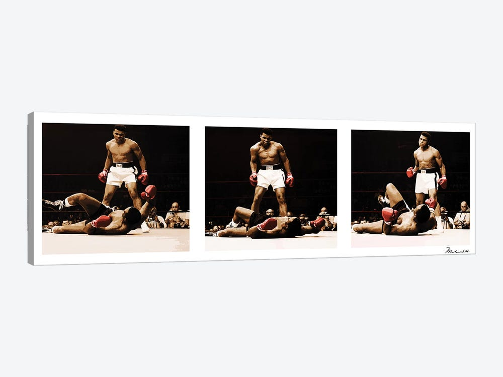 Muhammad Ali Vs. Sonny Liston by Muhammad Ali Enterprises 1-piece Art Print