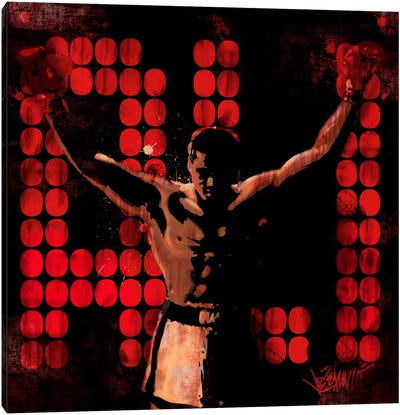 Champ (Muhammad Ali) Canvas Art Print