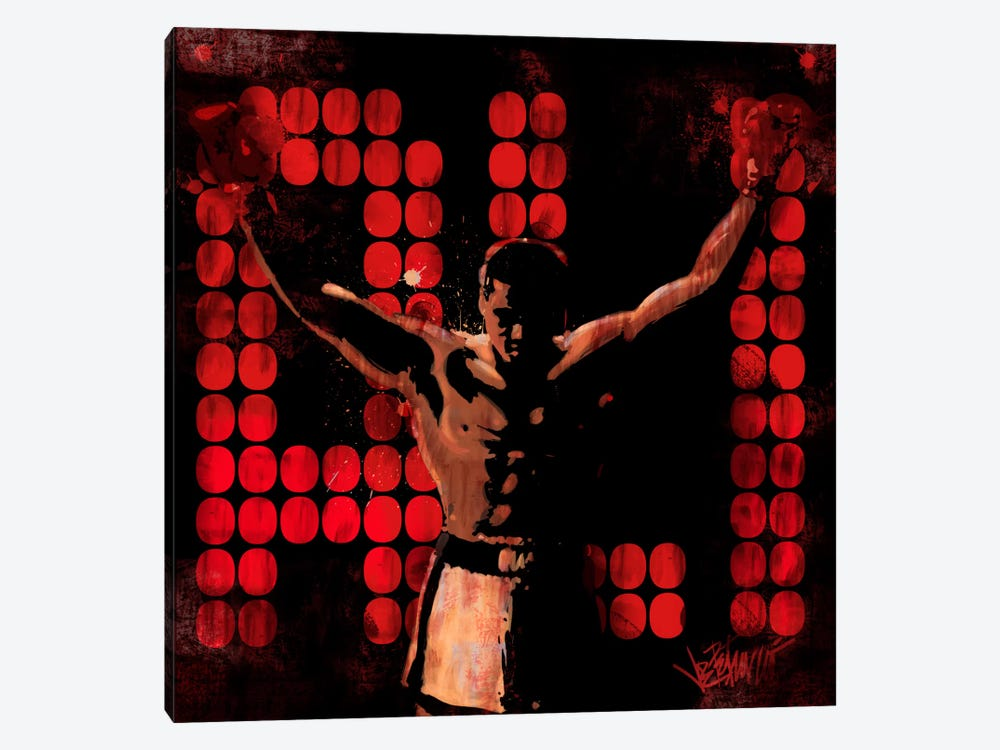 Champ (Muhammad Ali) by Muhammad Ali Enterprises 1-piece Canvas Art Print