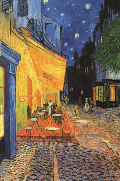 The Cafe Terrace On The Place Du Forum Caf Vincent