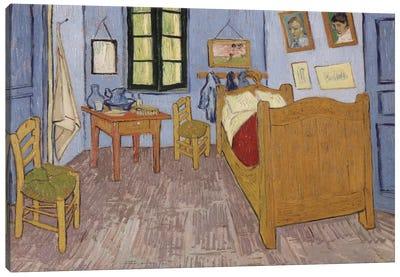 Bedroom In Arles, September 1889 Canvas Print #1014