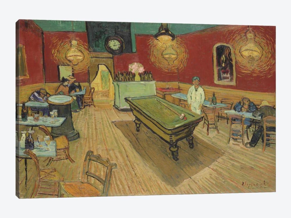 The Night Café, 1888 by Vincent van Gogh 1-piece Canvas Art Print