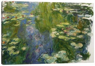 Le Bassin Aux Nympheas Canvas Print #1044