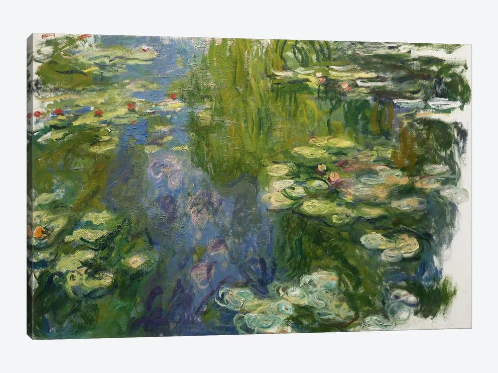 Le Bassin Aux Nympheas by Claude Monet 1-piece Canvas Artwork