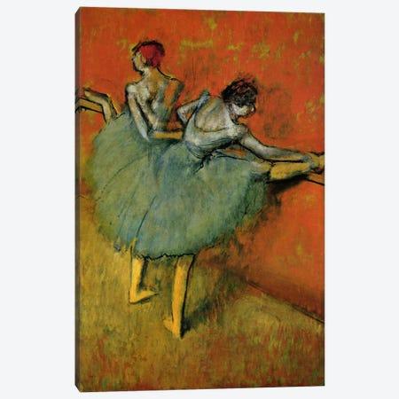 Tanzerinnen an der Stange, 1888 Canvas Print #1062} by Edgar Degas Canvas Wall Art