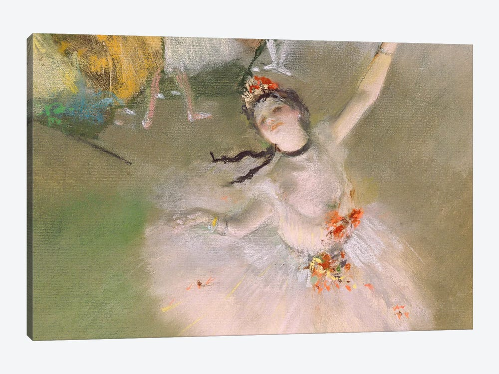 Dancer on The Stage by Edgar Degas 1-piece Canvas Artwork
