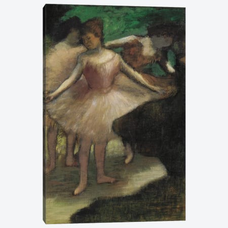 Trois Danseuses En Rose, 1886 Canvas Print #1070} by Edgar Degas Canvas Art Print