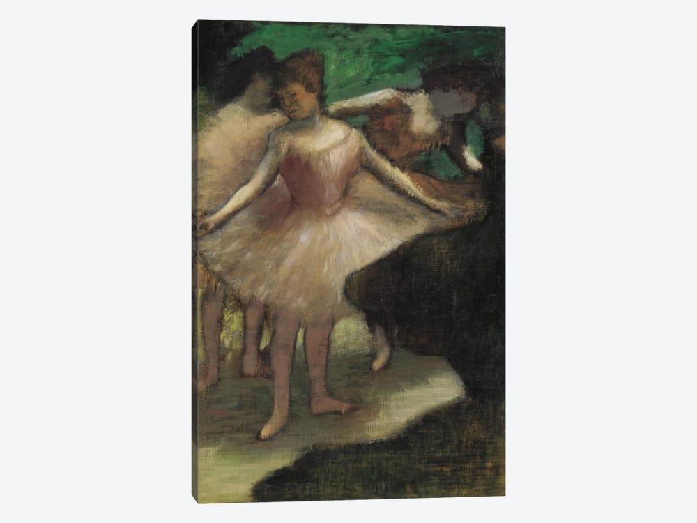 Trois Danseuses En Rose, 1886 by Edgar Degas 1-piece Canvas Print