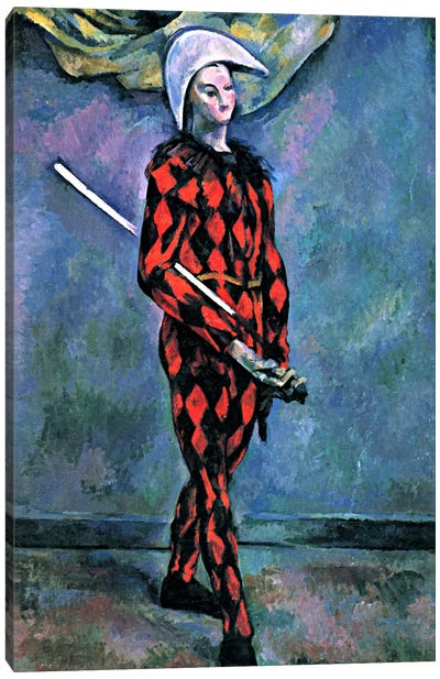 Harlequin Canvas Art Print