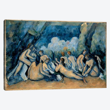 The Bathers Canvas Print #1080} by Paul Cezanne Canvas Wall Art