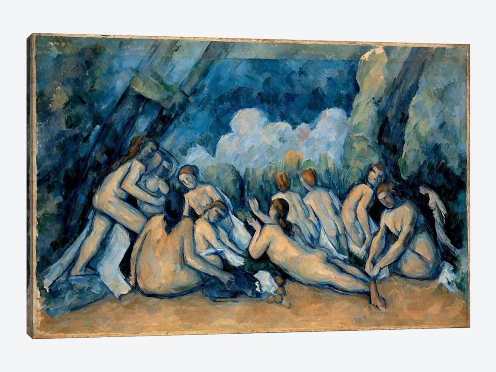 The Bathers by Paul Cezanne 1-piece Canvas Art
