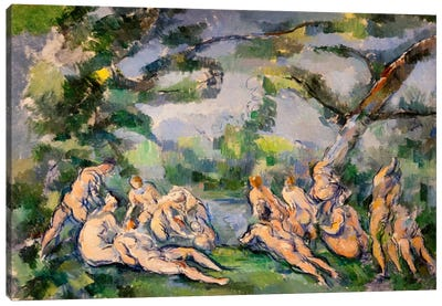 Bathers 1 Canvas Art Print