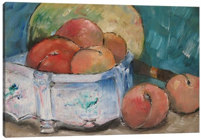 Fruit Bowl Canvas Print #1084