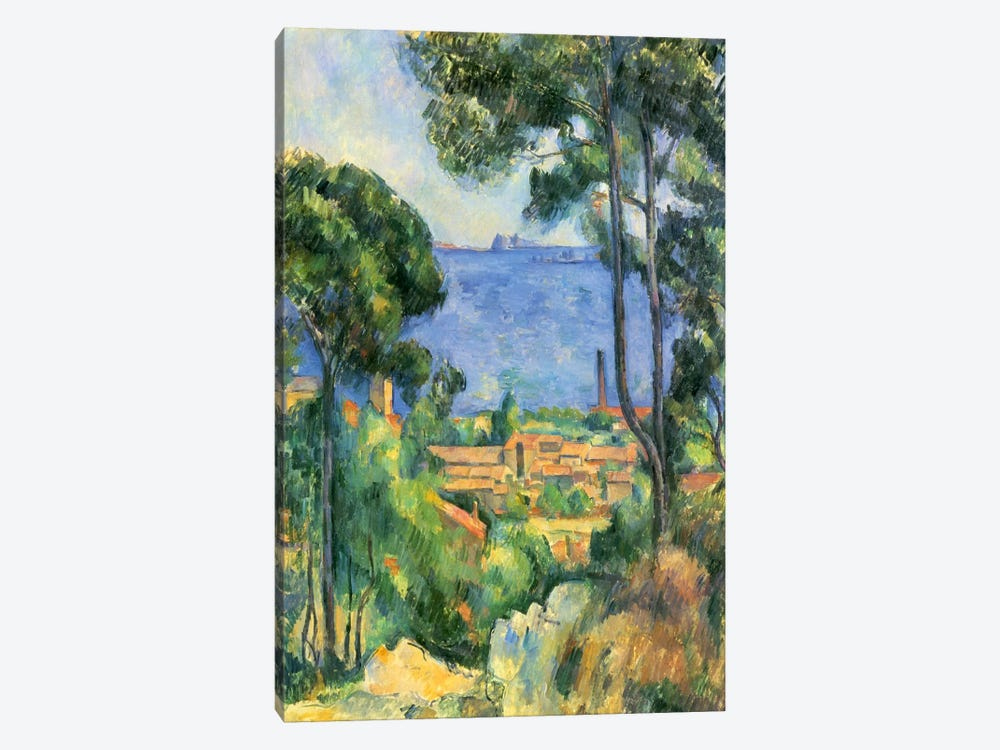 Forest of Trees by Paul Cezanne 1-piece Art Print