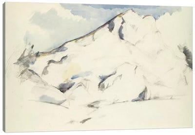 La Montagne Sainte-Victoire (Fruits Et Feuillage) 1900-1902 Canvas Art Print