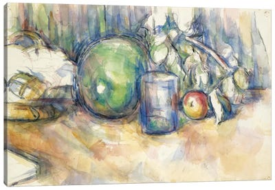 Nature Morte Au Melon Vert 1902-1906 Canvas Art Print