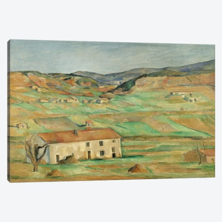 Environs De Gardanne 1886-1890 Canvas Print #1094} by Paul Cezanne Canvas Wall Art