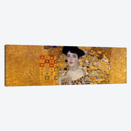 Portrait of Adele Bloch-Bauer I Canvas Print #1099PAN} by Gustav Klimt Canvas Art Print