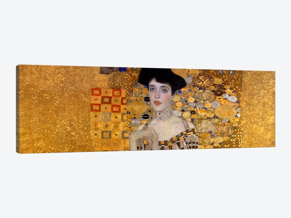 Portrait of Adele Bloch-Bauer I by Gustav Klimt 1-piece Art Print