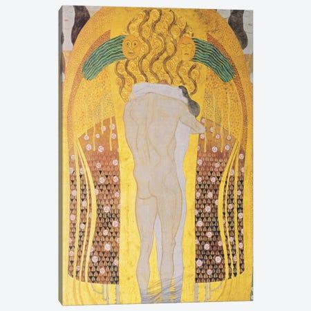 Diesen Kuss der ganzen Welt 1902 Canvas Print #1103} by Gustav Klimt Art Print