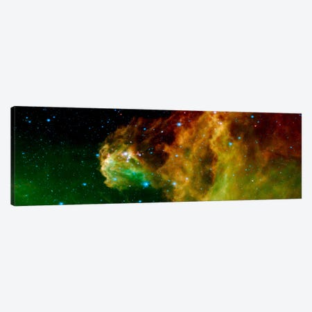 Stars Emerging From Orion's Head (Spitzer Space Observatory) Canvas Print #11048} Art Print