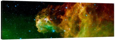 Stars Emerging From Orion's Head (Spitzer Space Observatory) Canvas Art Print