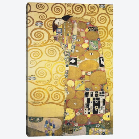 Erfullung 1905 Canvas Print #1104} by Gustav Klimt Canvas Wall Art