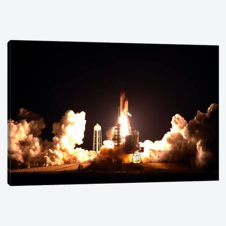 Space Shuttle Endeavour Launch Canvas Print #11053} by NASA Canvas Artwork