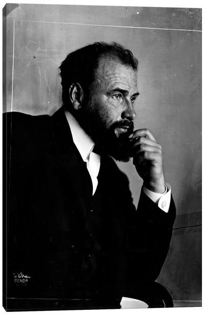 Gustav Klimt Portrait Canvas Art Print